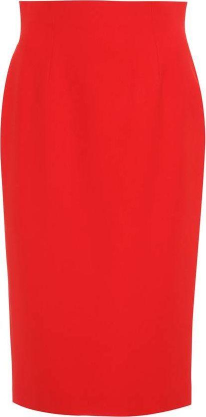 Alexander McQueen Crêpe pencil skirt