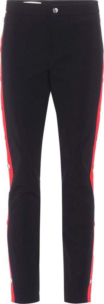 Gucci Stretch-crêpe trousers