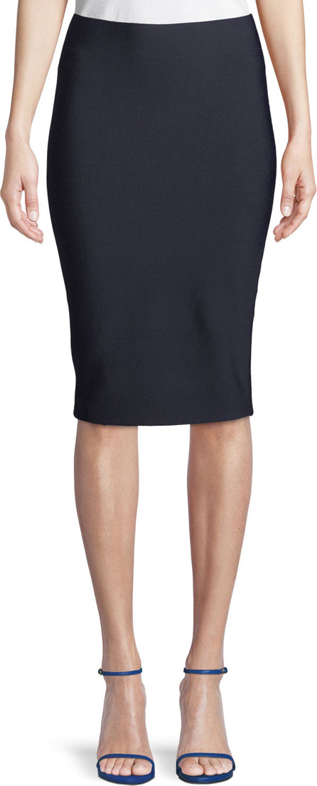 Bailey 44 Poly-Sci Pull-On Midi Skirt