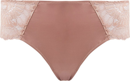 Hanro Laila lace-trimmed mid-rise briefs