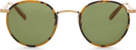 GARRETT LEIGHT Wilson 46 round-frame sunglasses