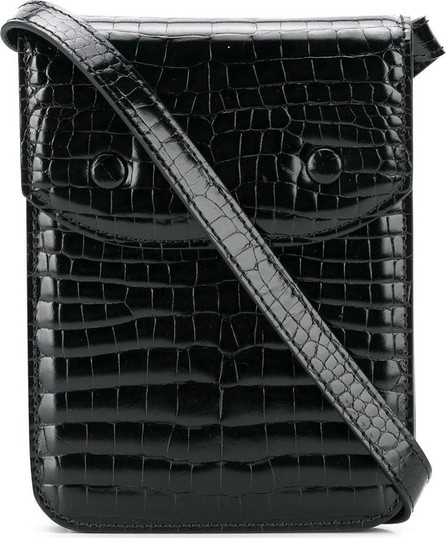 aea26c8d8e2 Crocodile effect mini shoulder bag