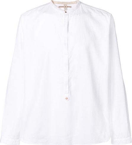 Dnl Mandarin neck shirt