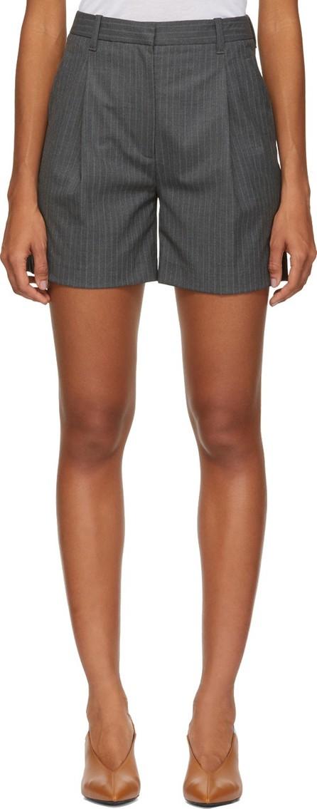 3.1 Phillip Lim Grey Pinstripe Walking Shorts
