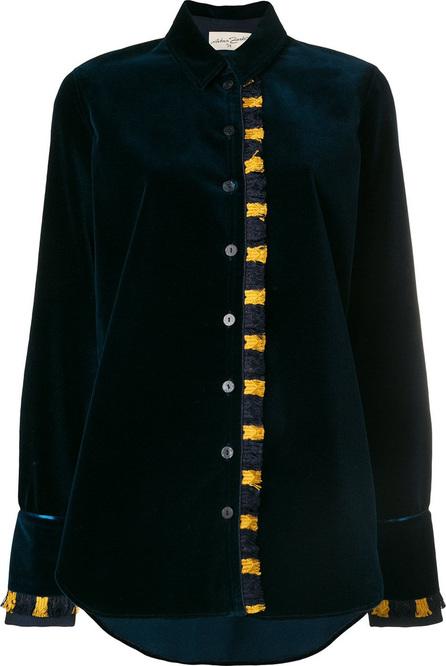 Antonia Zander Adele velvet blouse