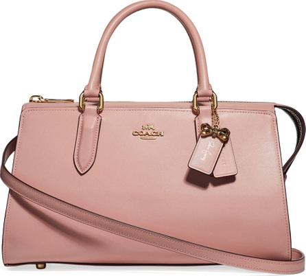 COACH x Selena Gomez Bond Leather Tote Bag