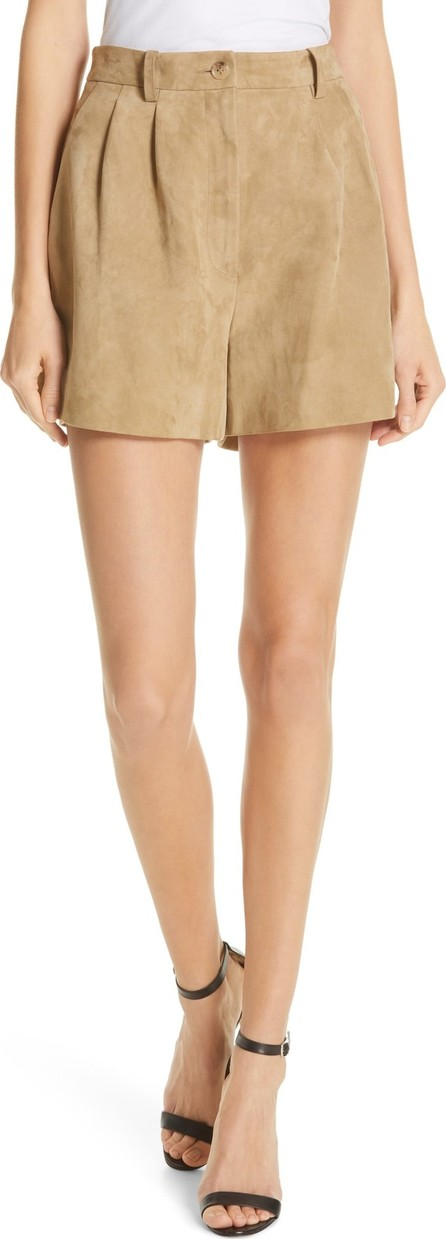 Nili Lotan Roxana Suede Shorts