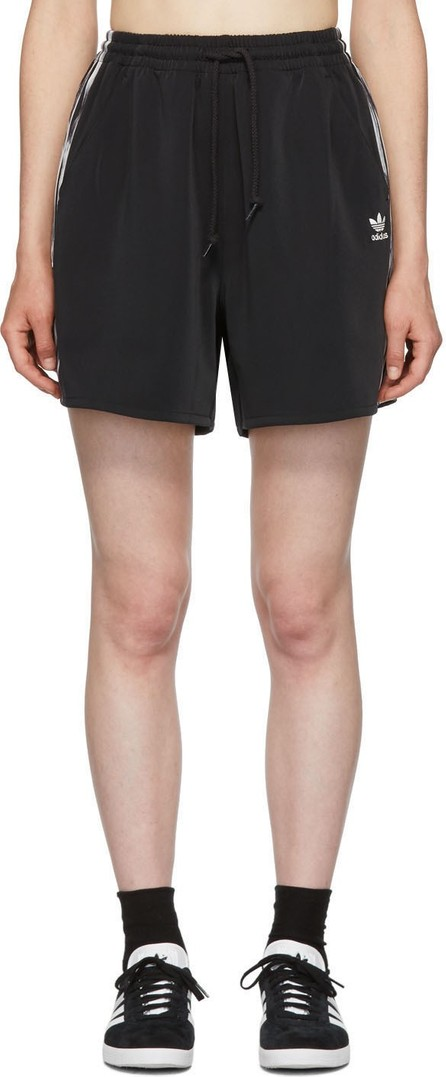 adidas Originals by Daniëlle Cathari Black Satin Shorts
