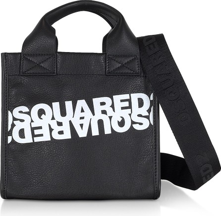 DSQUARED2 Dsquared2 Printed Calf Leather Small Tote Bag