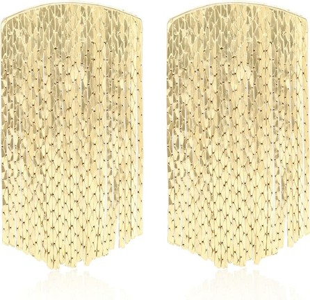 Anissa Kermiche Fil d'Or 18kt gold-plated earrings