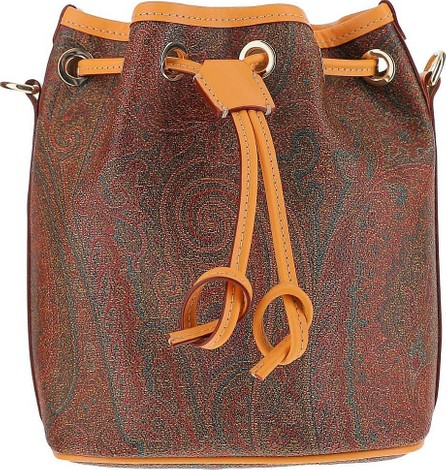Etro Paisley Print Coated Canvas Bucket Bag
