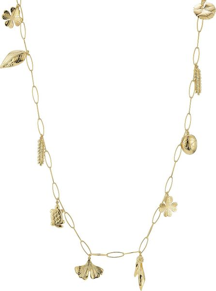 Aurelie Bidermann 18kt Yellow Gold Plated Necklace