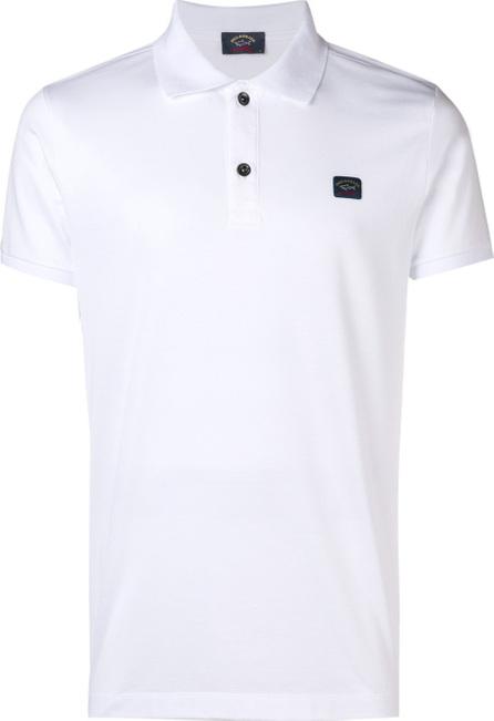 Paul & Shark Logo patch polo shirt