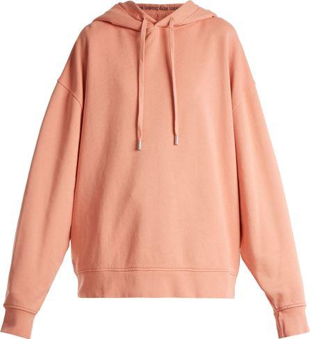 Acne Studios Yala hooded cotton sweatshirt