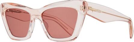 Salvatore Ferragamo Acetate Cat-Eye Sunglasses