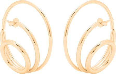 Charlotte Chesnais Ricoche gold-plated earrings