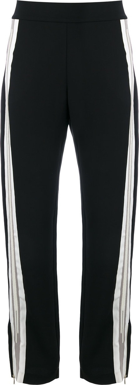 Aviu side stripe track pants