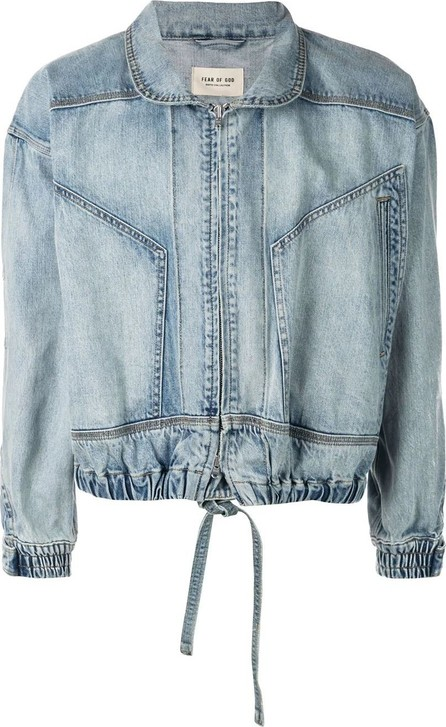 Fear of God drawstring denim jacket