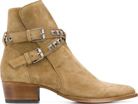 Amiri Jodphur studded ankle boots