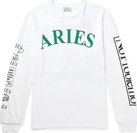 Aries Printed Cotton-Jersey T-Shirt