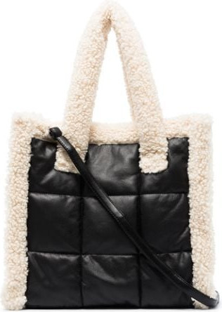 STAND STUDIO Lolita Quilt faux-leather tote bag
