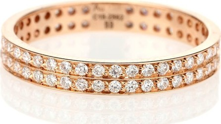 REPOSSI Berbere 18-kt rose gold ring with diamonds