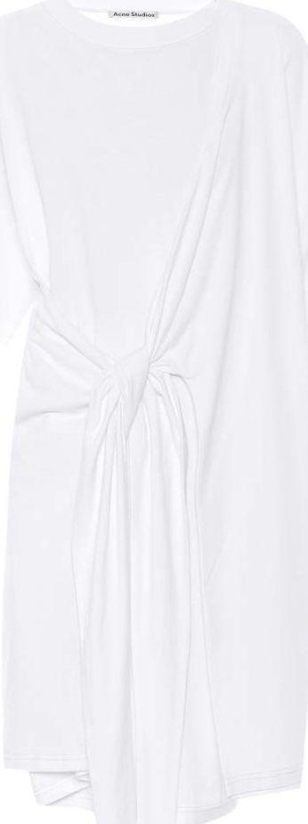 Acne Studios Lylia cotton T-shirt dress