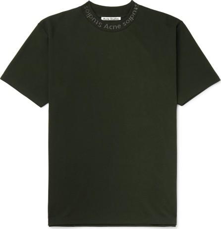 Acne Studios Navid Logo-Print Stretch-Jersey T-Shirt