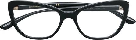 Dolce & Gabbana Cat-eye metal embellished glasses