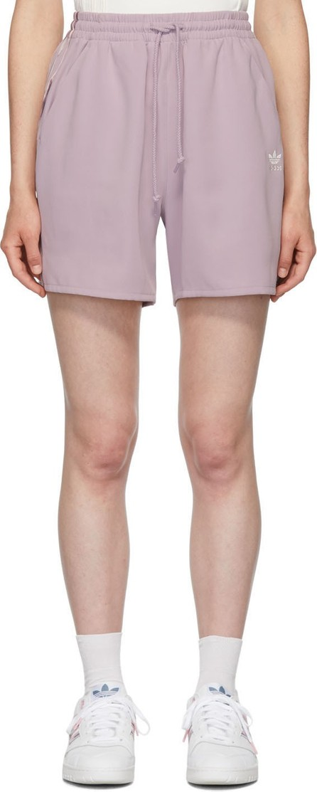 adidas Originals by Daniëlle Cathari Purple Satin Shorts