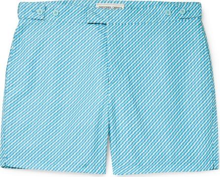 Frescobol Carioca Pepe Slim-Fit Mid-Length Printed Swim Shorts