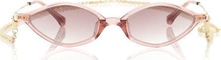 Alessandra Rich x Linda Farrow 3 C6 Angular sunglasses