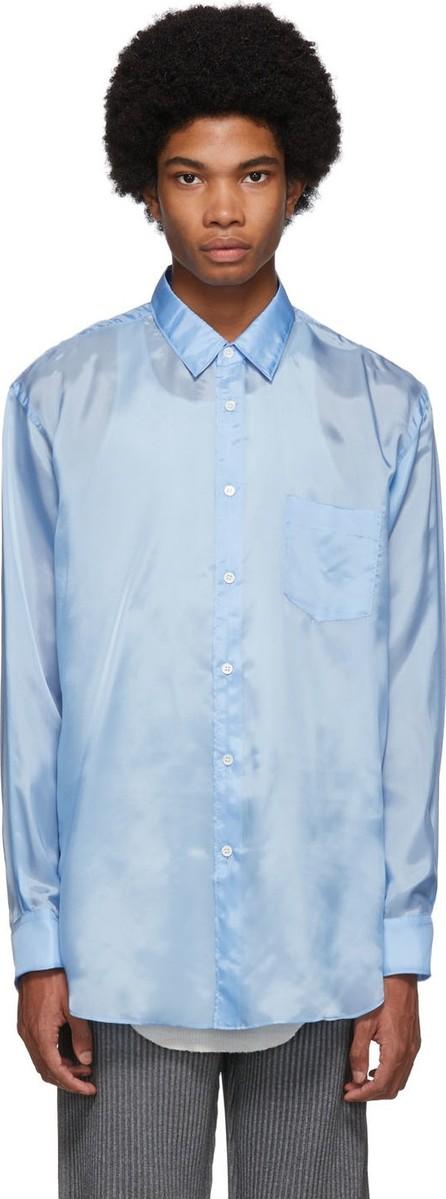 Comme Des Garcons Blue Lining Forever Shirt