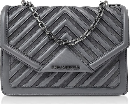Karl Lagerfeld K/Klassik Quilted Small Crossbody Bag