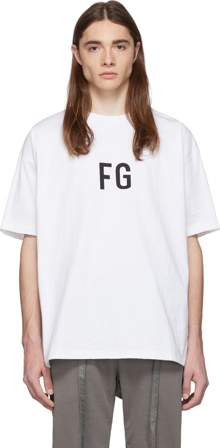 Fear of God White 'FG' T-Shirt