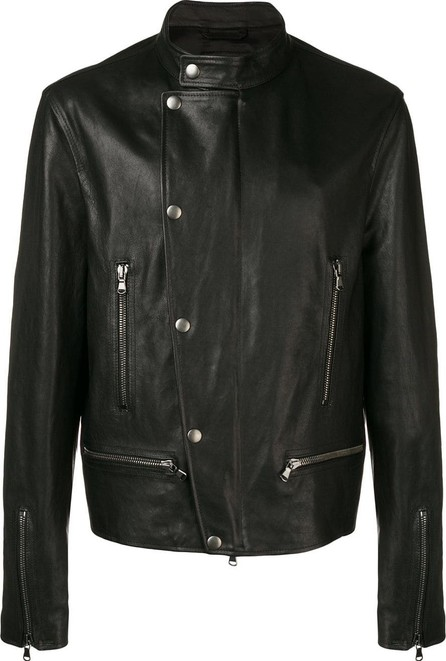 Diesel Black Gold Biker jacket in nappa leather