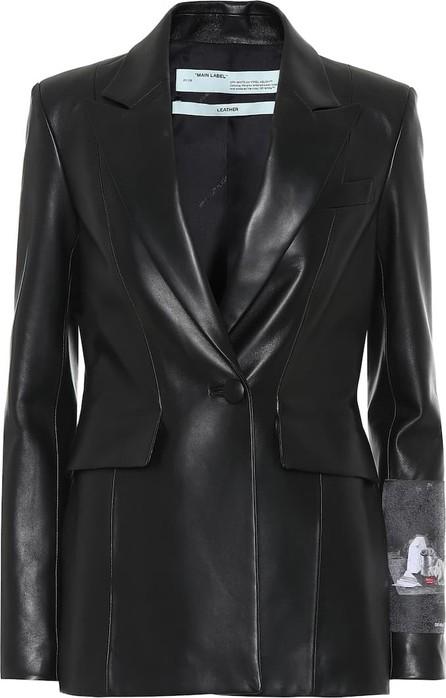 Off White Leather blazer
