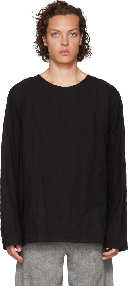 Toogood Black 'The Printer' Long Sleeve T-Shirt