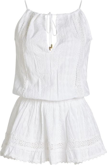 Melissa Odabash Cotton Mini Dress