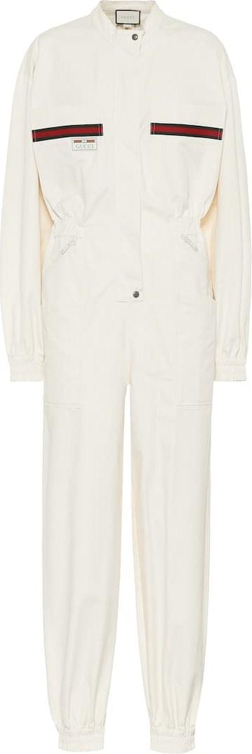 Gucci Cotton-twill jumpsuit