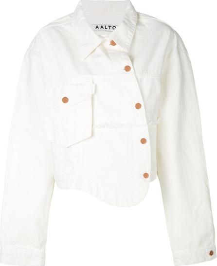 Aalto Asymmetric denim jacket