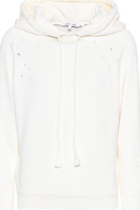 Helmut Lang Distressed cotton hoodie