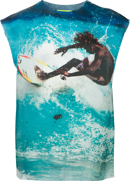 Ex Infinitas Surf print T-shirt