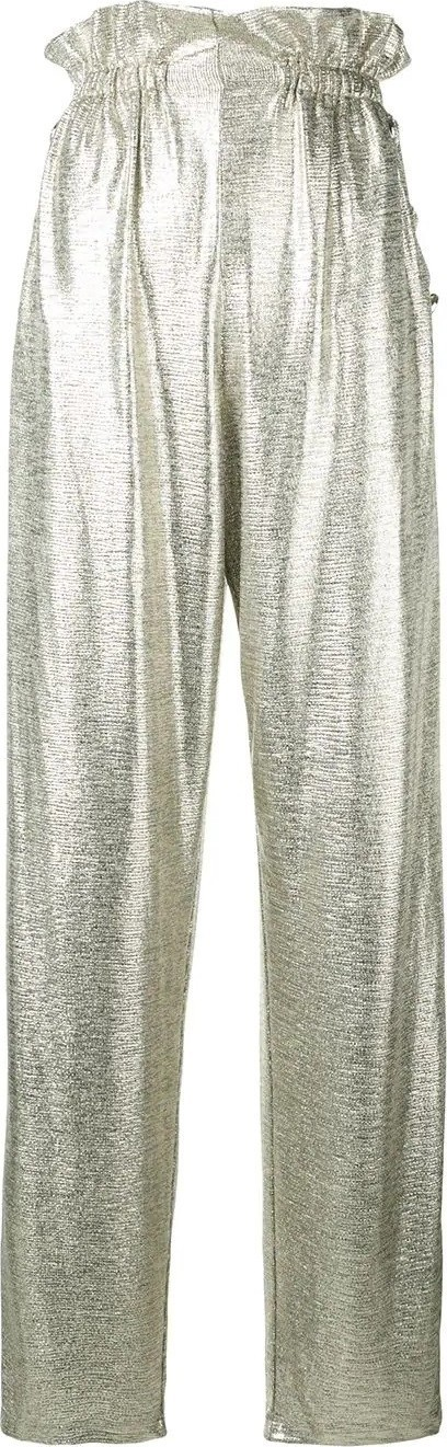 Balmain high waist palazzo trousers