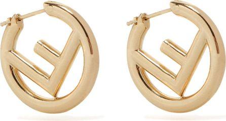 Fendi F is Fendi small hoop earrings
