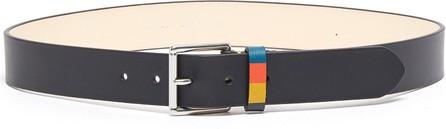 Paul Smith Bright stripe loop keeper belt