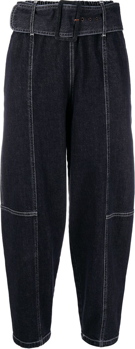 See By Chloé High-waisted cropped jeans
