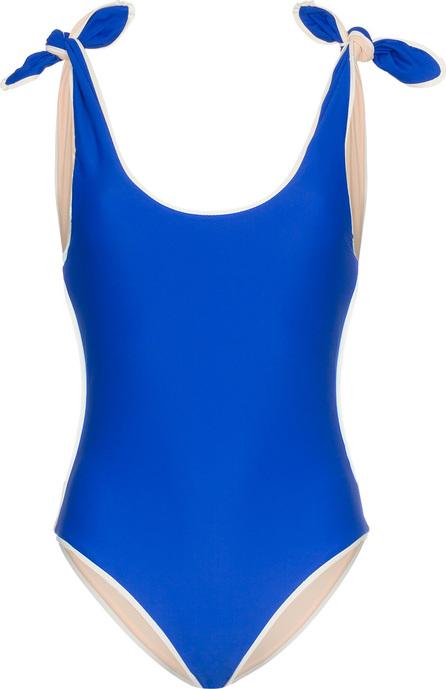 PAPER London Ricki baker bow shoulder swimsuit