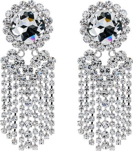 Alessandra Rich large fringe earring