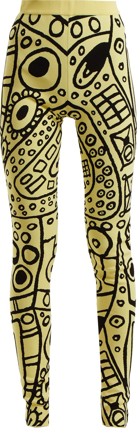 Colville Abstract-jacquard high-rise leggings